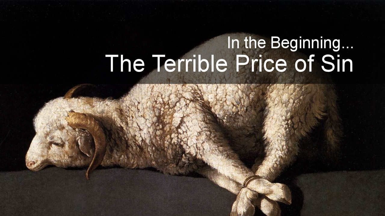 The Terrible Price For Sin
